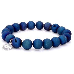 Monica Mauro Agate Beaded Bracelet